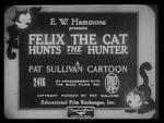 Watch Felix the Cat Hunts the Hunter (Short 1926) Vodlocker