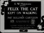 Watch Felix the Cat Kept on Walking (Short 1925) Vodlocker